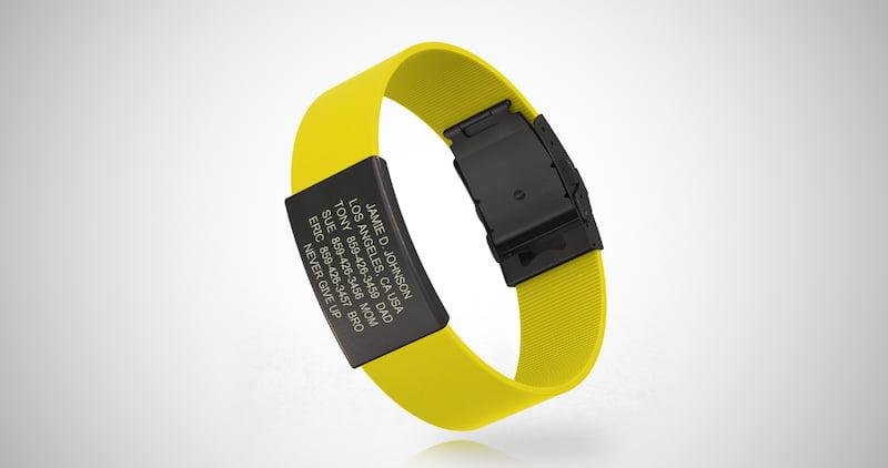 ROAD iD Premium ID Wristband