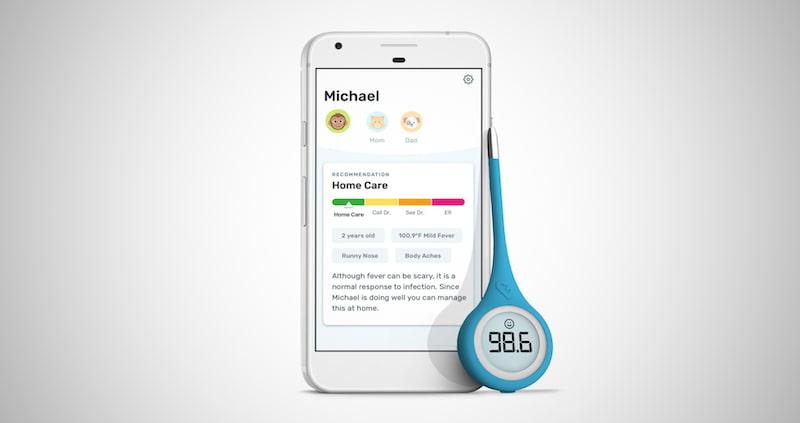 Kinsa QuickCare Smart Thermometer