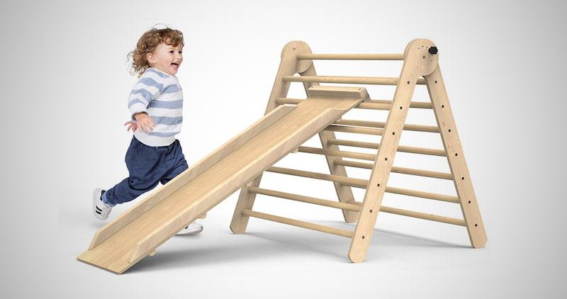 Foldable Toddler Slide Playground