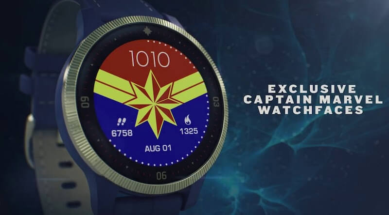 Captain Marvel Inspired Premium Smartwatch