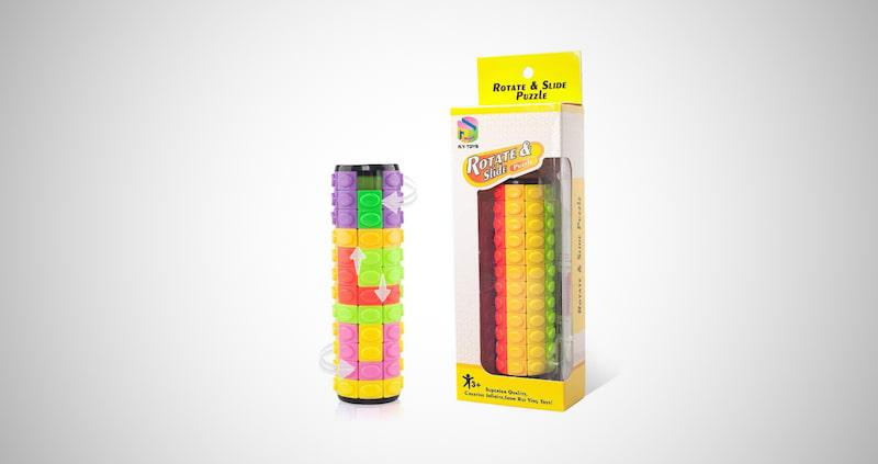 Rotate&Slide Logic Toy