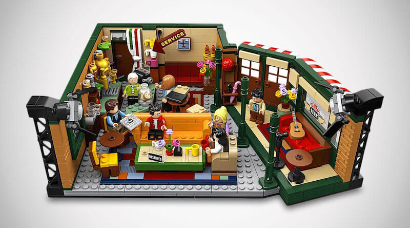 Friends Central Perk Building Kit