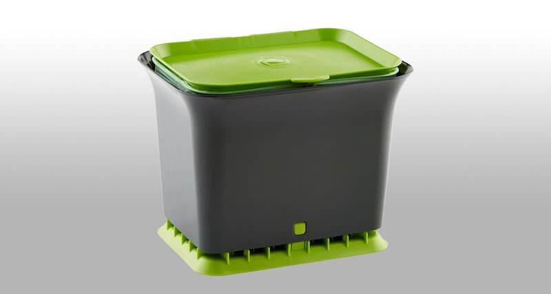 Fresh Air Odor-Free Kitchen Compost Bin