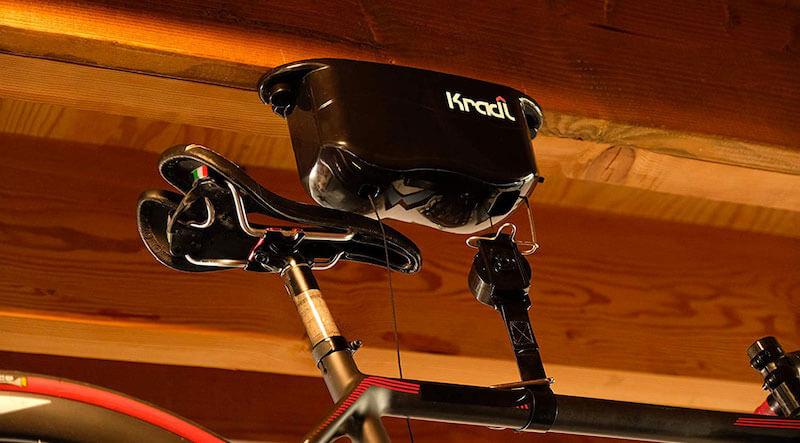 Kradl Ceiling Mount Bike Rack