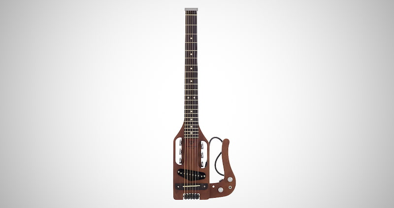 Foldable App-Enabled Digital Travel Guitar