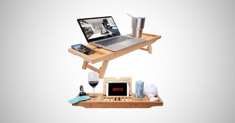 Bathtub Tray & Bed Desk
