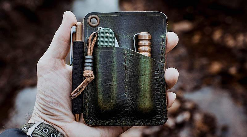 Hitch and Timber Leather EDC Wallet