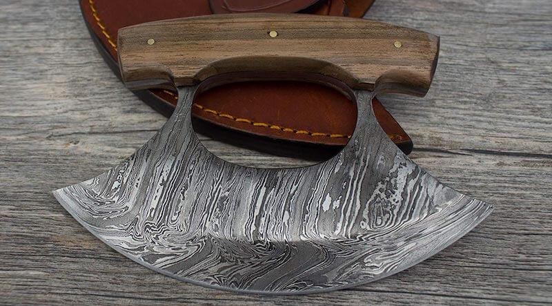 Handmade Inupiat Ulu Knife