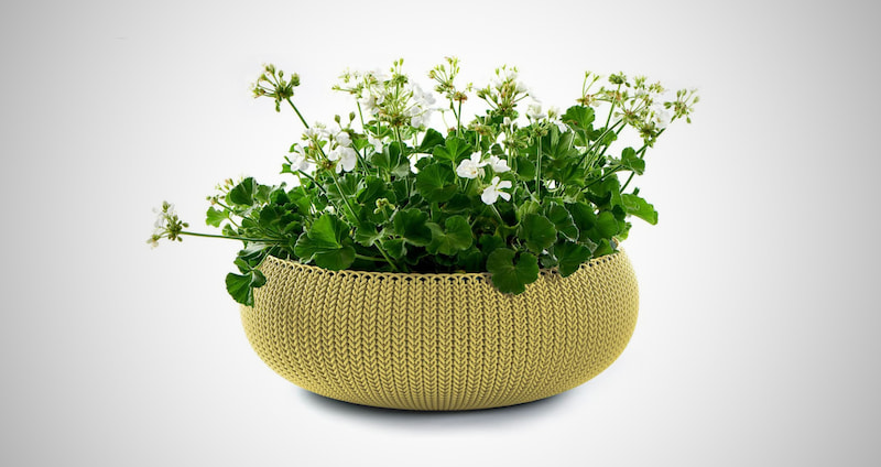 Keter Cozies Knit Style Planters