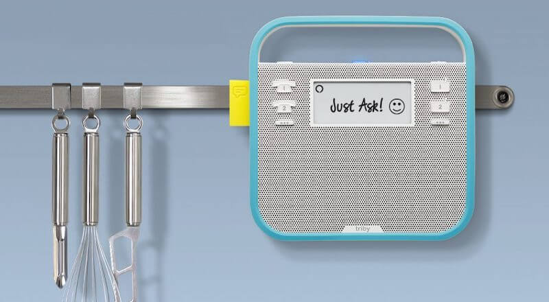 Smart Portable Speaker with Amazon Alexa