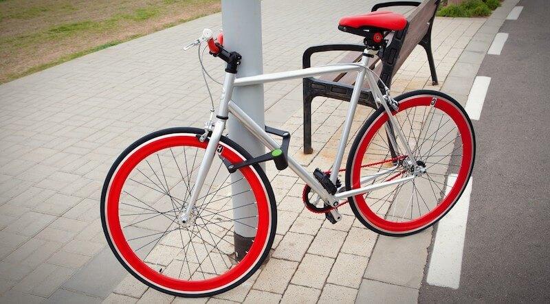 The Folding Bike Lock