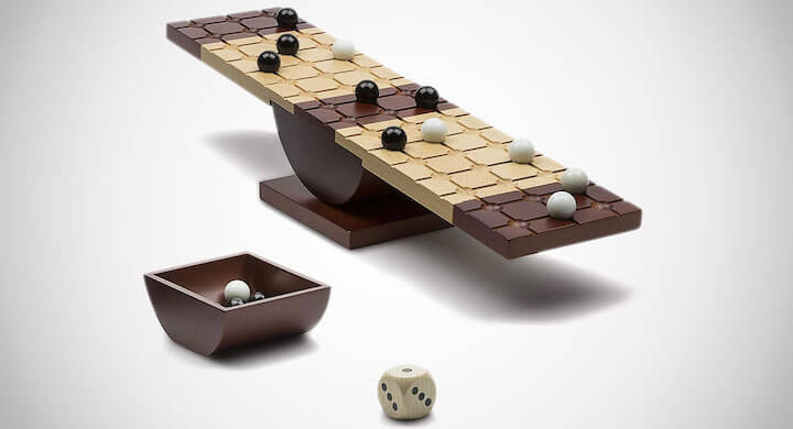 Marbles Balancing Board Game