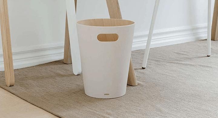 Umbra Modern Wooden Trash Can