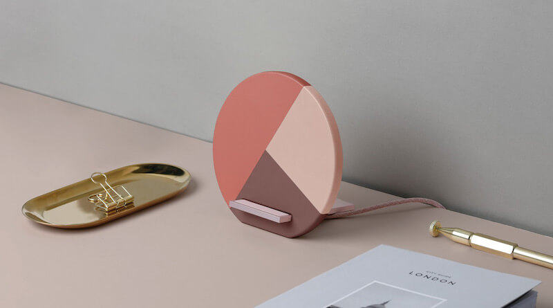 Native Union Dock Marquetry Wireless Charger