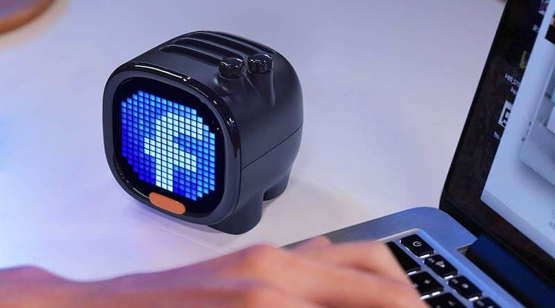 Pixel Art Portable Bluetooth Speaker