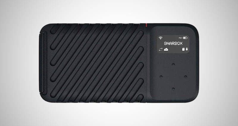 GNARBOX Rugged Backup Device
