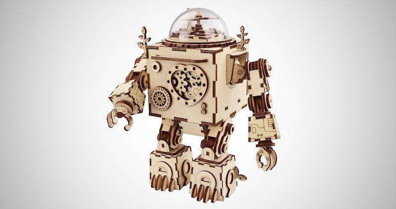 3D Puzzle Music Robot