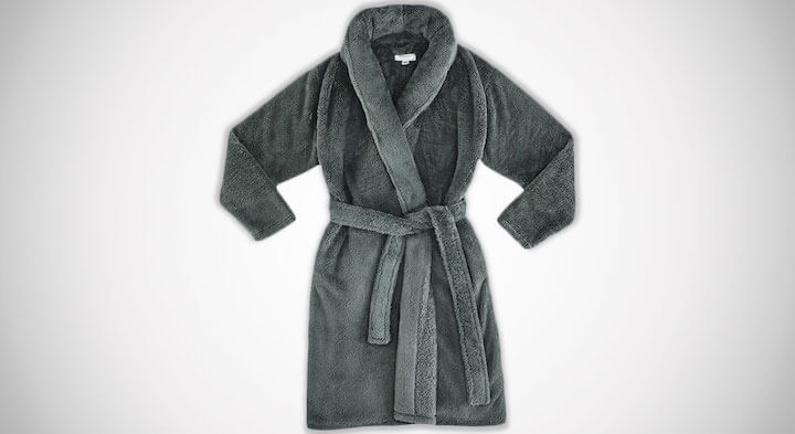 Modernist x Gravity Weighted Collar Fleece Robe