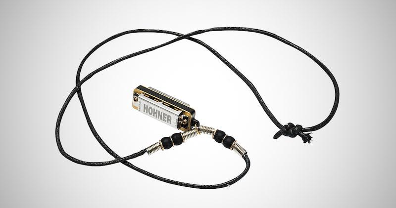 Hohner Mini Harmonica Necklace