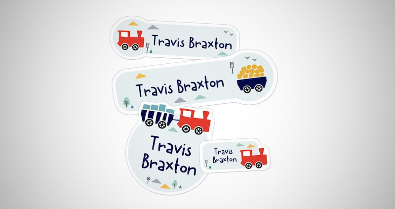 Personalized Daycare Name Labels