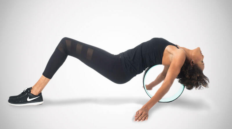 Yoga Wheel for Muscle & Back Pain Relief
