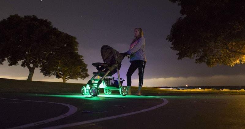 Owlet Smart Green Sock Baby Monitor