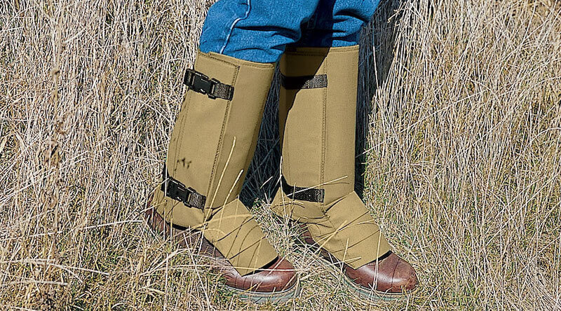 Men's Snake Bite Proof Leg Armor