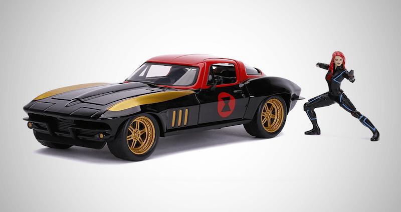 Marvel 1:24 1966 Chevy Corvette