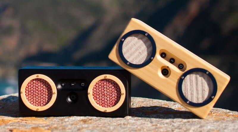 Bongo Bamboo Retro Bluetooth Speakers