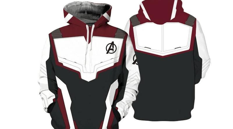 Avengers Superhero 3D Printed Hoodies