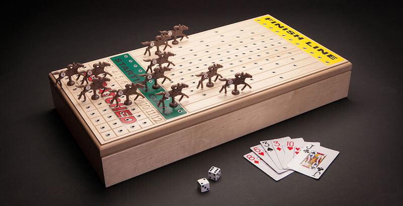 Desktop Horse Racing Board Game