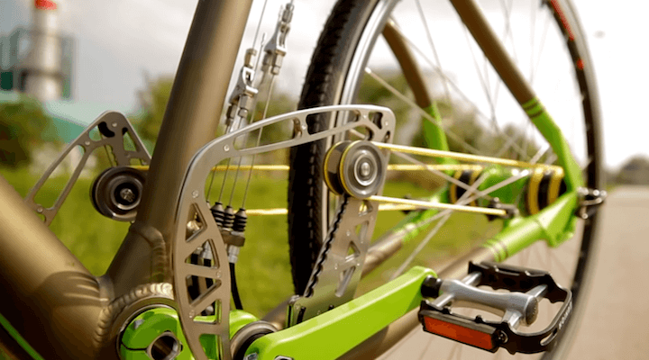 String Driven Chainless Bike – The Future of Cycling