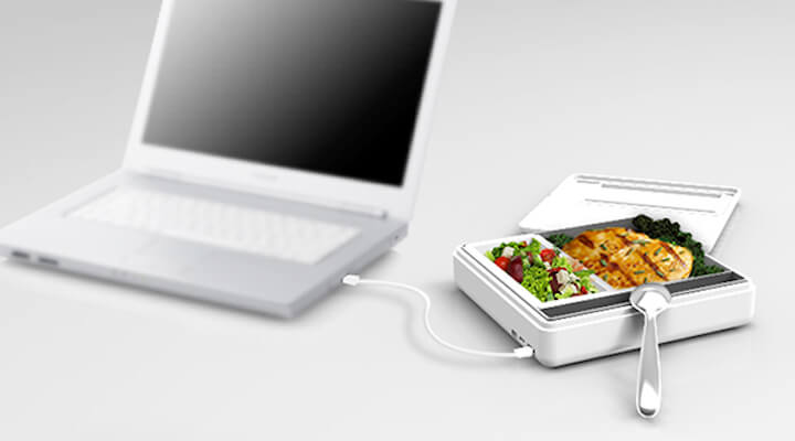 Papilla USB Heated Lunchbox