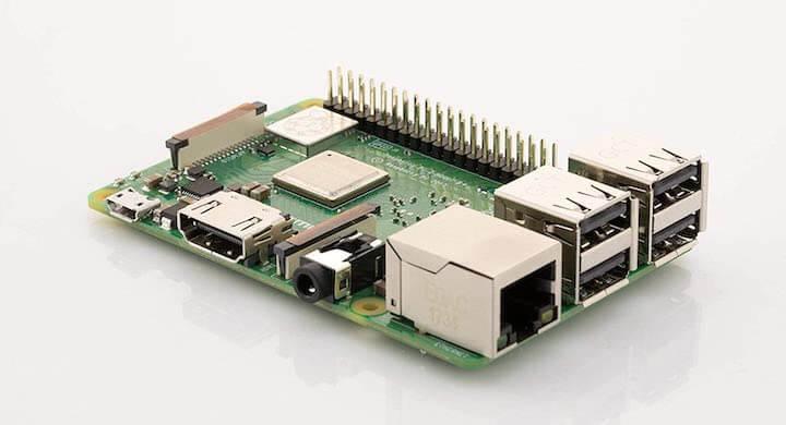 Raspberry Pi 3 B+ Motherboard