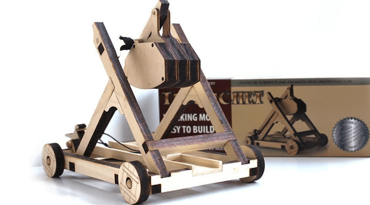 Tabletop Laser Cut Trebuchet Kit
