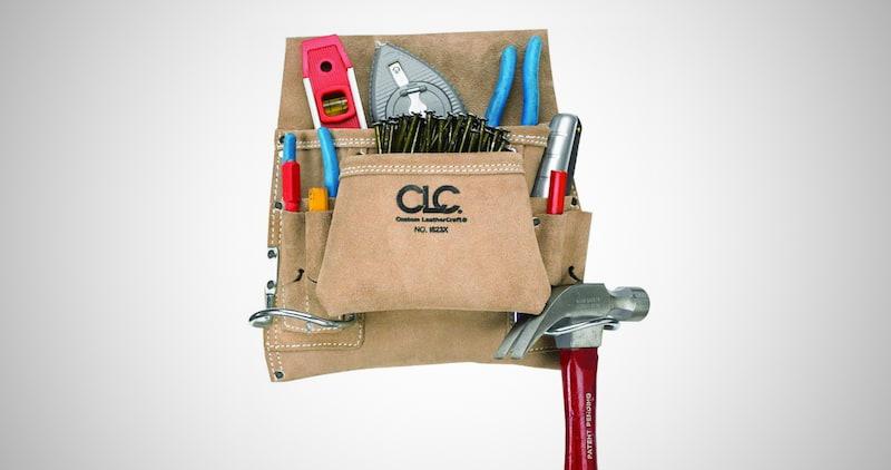 CLC Leathercraft Carpenter's Tool Bag
