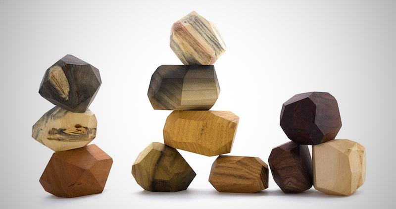 Tumi Ishi Wood Rock Set