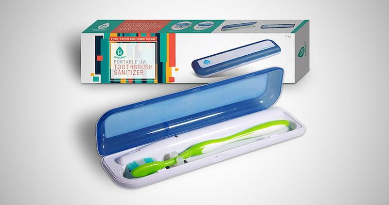 Portable Toothbrush Sanitizer