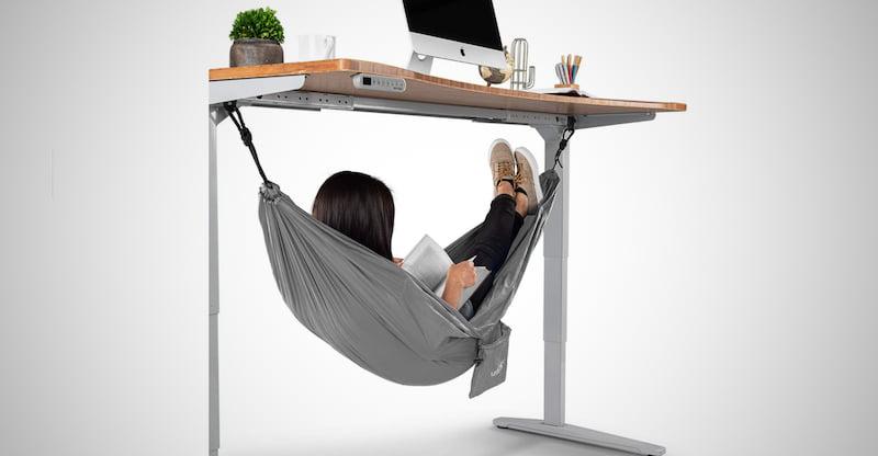 Uplift Desk Under Desk Hammock