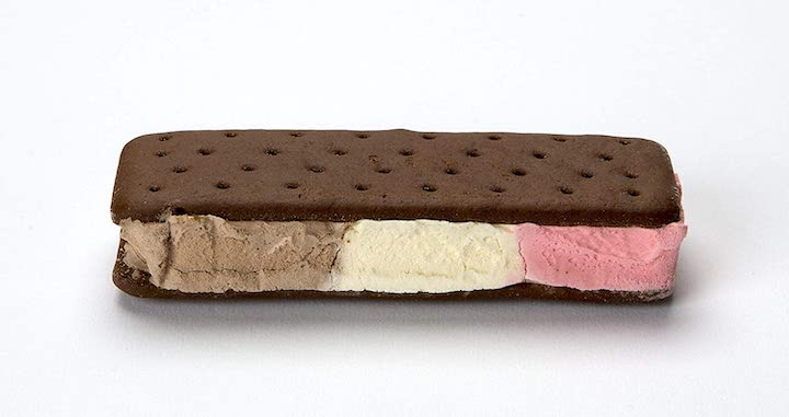 Astronaut Foods Freeze-Dried Ice Cream Sandwich