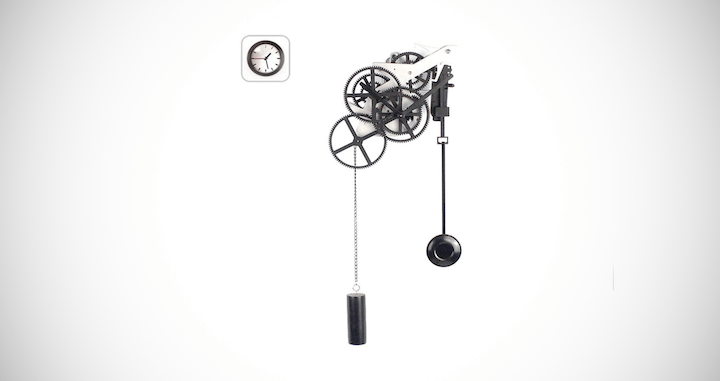 Mechanical Silent Gear Clock