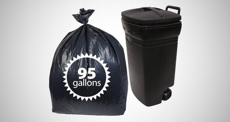 95 Gallon Trash Bags