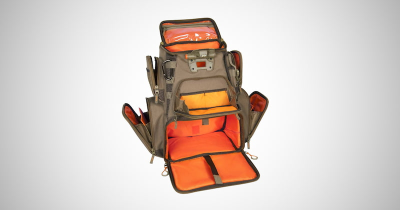 Lighted Fishing Tackle Backpack