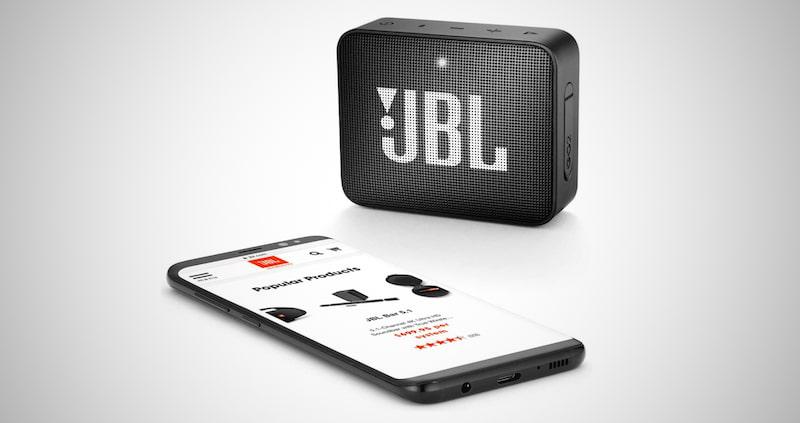 JBL GO2 - Waterproof Bluetooth Speaker