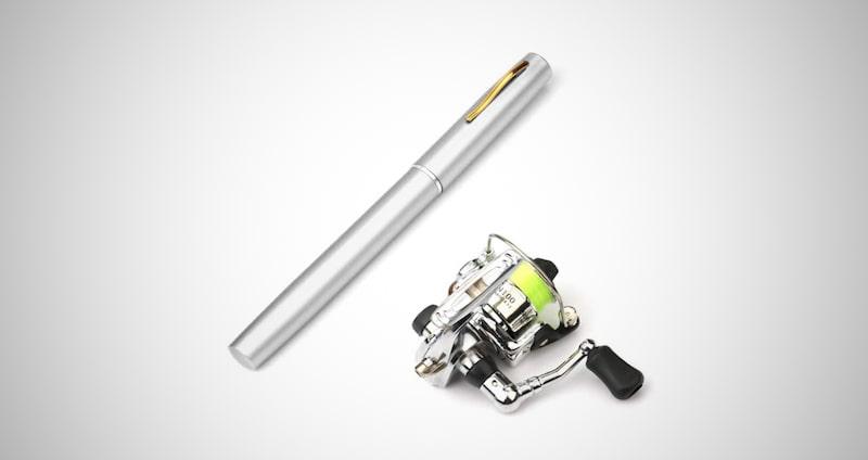 Lixada Pen Fishing Rod & Reel Set