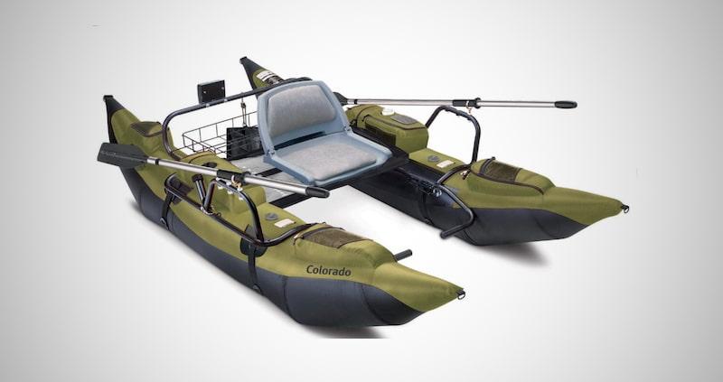 Inflatable Fishing Pontoon Boat