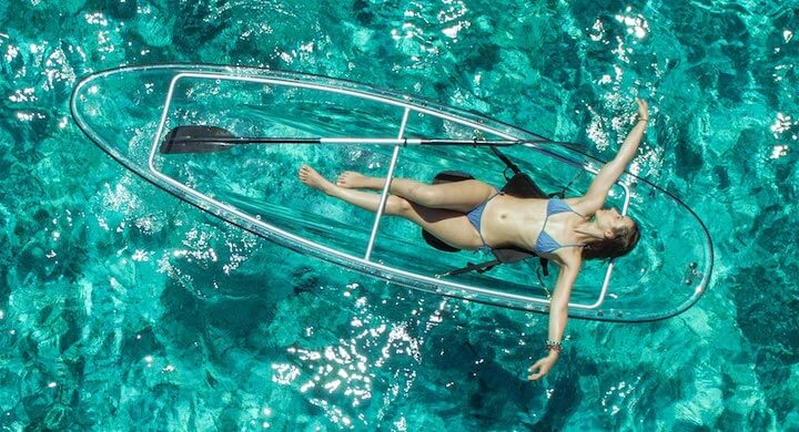 Two Person Transparent Kayak