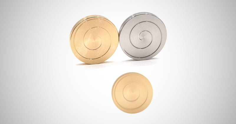 Kinetic Spinning Coin