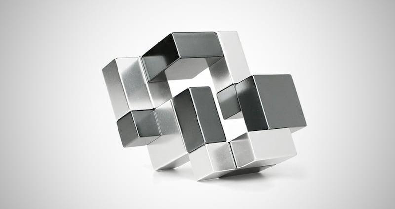 Mini Metal Cube