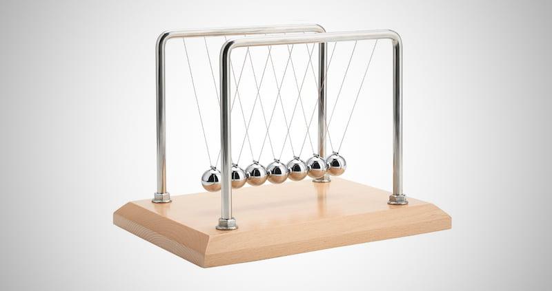 CERROPI 7 Balls Newton's Cradle